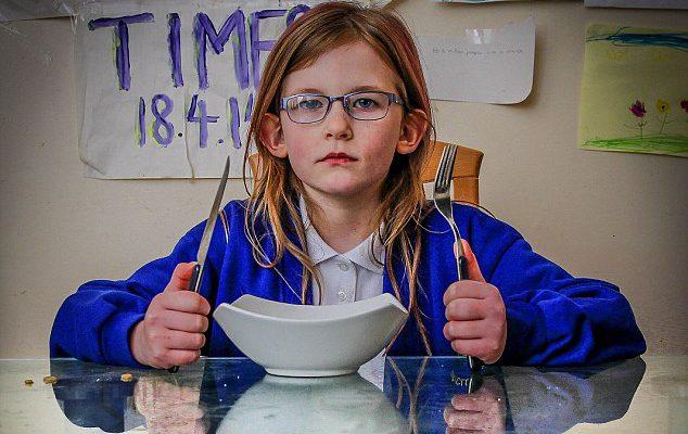 """I se spune """"copilul bionic"""" Fetița care nu simte durere, nu obosește și mănâncă o dată la câteva zile (Foto)"""