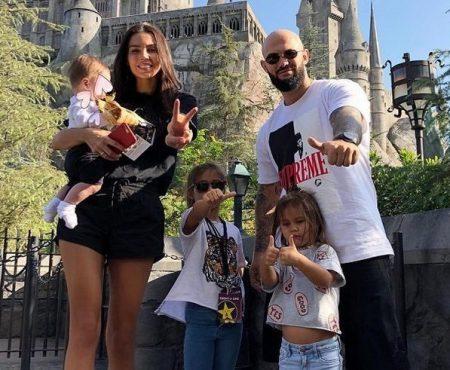 """""""Faceți cunoștință cu Maya""""! Geegun și Oksana Samoylova au împărtășit o fotografie cu mezina familiei"""