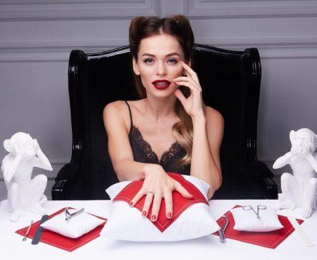 """Actrița din serialul """"Univer"""", Anna Khilkevich, și-a deschis un salon de manichiură"""