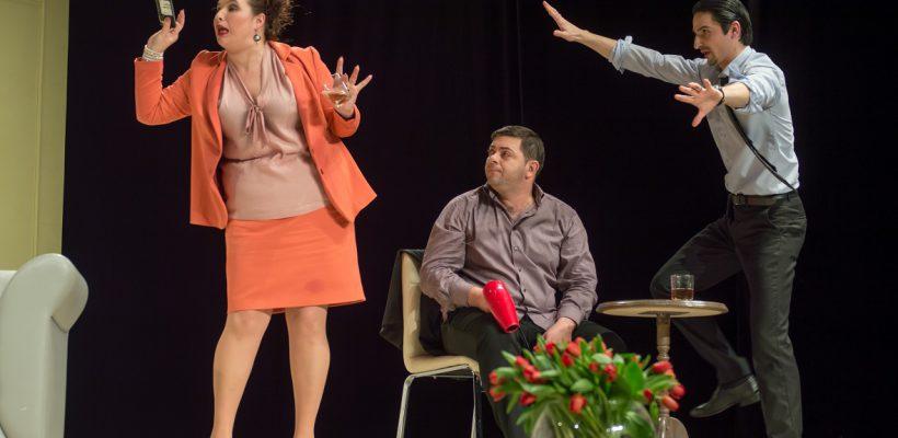 """Două comedii despre iubire ne așteaptă la Teatrul """"Eugene Ionesco"""" în acest weekend"""