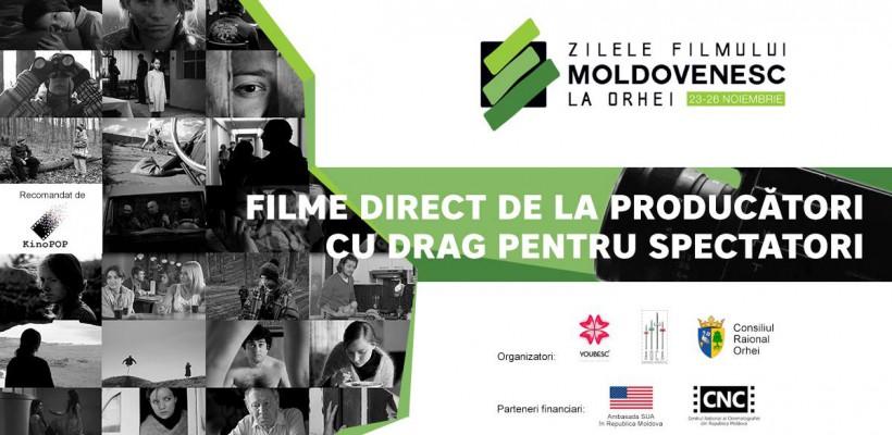 Cele mai bune proiecții cinematografice naționale din ultima perioadă vor putea fi văzute gratuit la Orhei