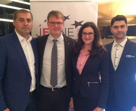 Alexandrina Robu, prima moldoveancă cu funcție de conducere în cea mai mare organizație de tineri antreprenori din Europa
