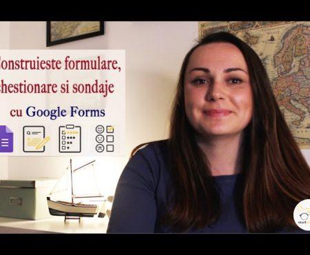 Feedback-ul poate fi colectat deștept sau cum să folosiți eficient Google Forms (Video)