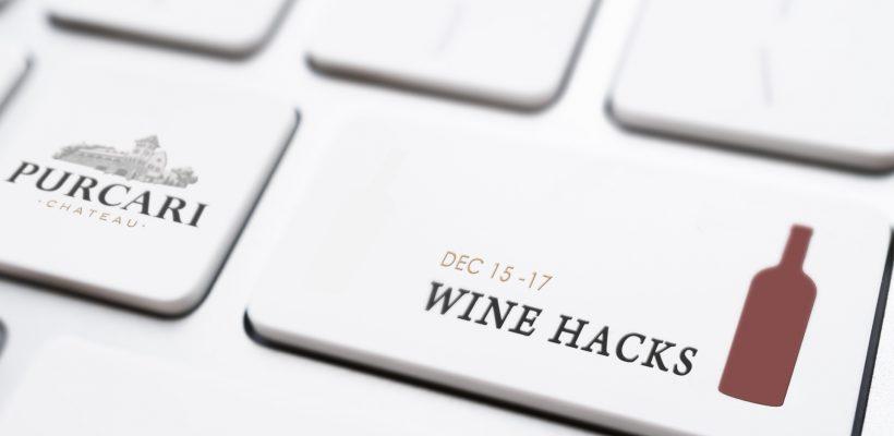 Ai chef de un hackathon amețitor, cu arome de vin bun? Wine Hacks by Purcari sparge stereotipurile