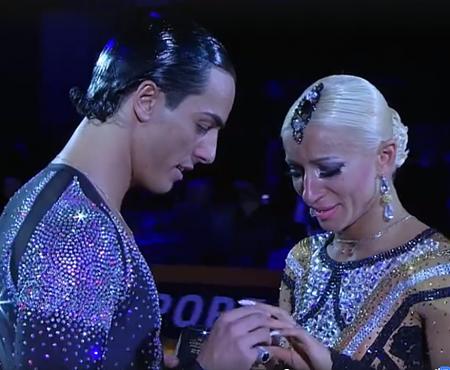 Moldoveanca Anna Matus, campioană mondială la dans, a fost cerută în căsătorie de partenerul ei italian, Gabriele Goffredo