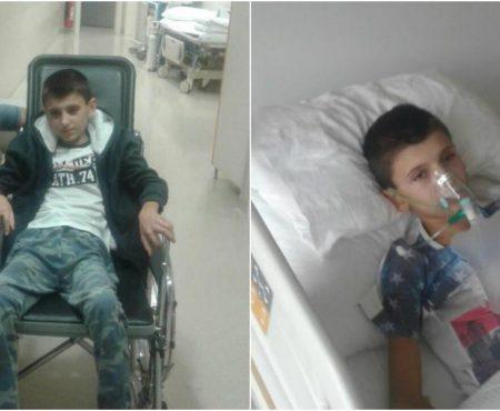 Să-l salvăm pe Vasilică Goncear, fiul olarului Vasile Goncear! Băiatul de 13 ani suferă de cancer