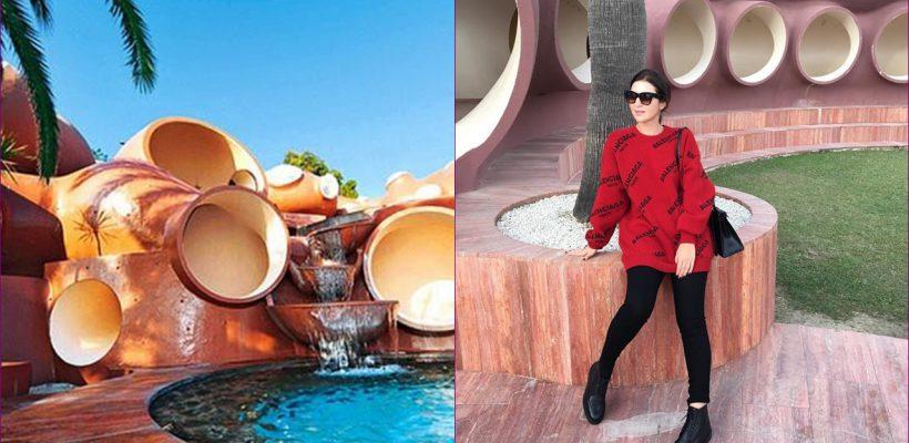 """Jasmin filmează un videoclip la """"Bubble Palace"""" a lui Pierre Cardin de la Cannes (Foto)"""