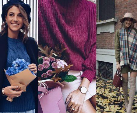 E sezonul lor! Învață de la bloggerița de modă Cristina Surdu cum să porți puloverele supradimensionate (Foto)