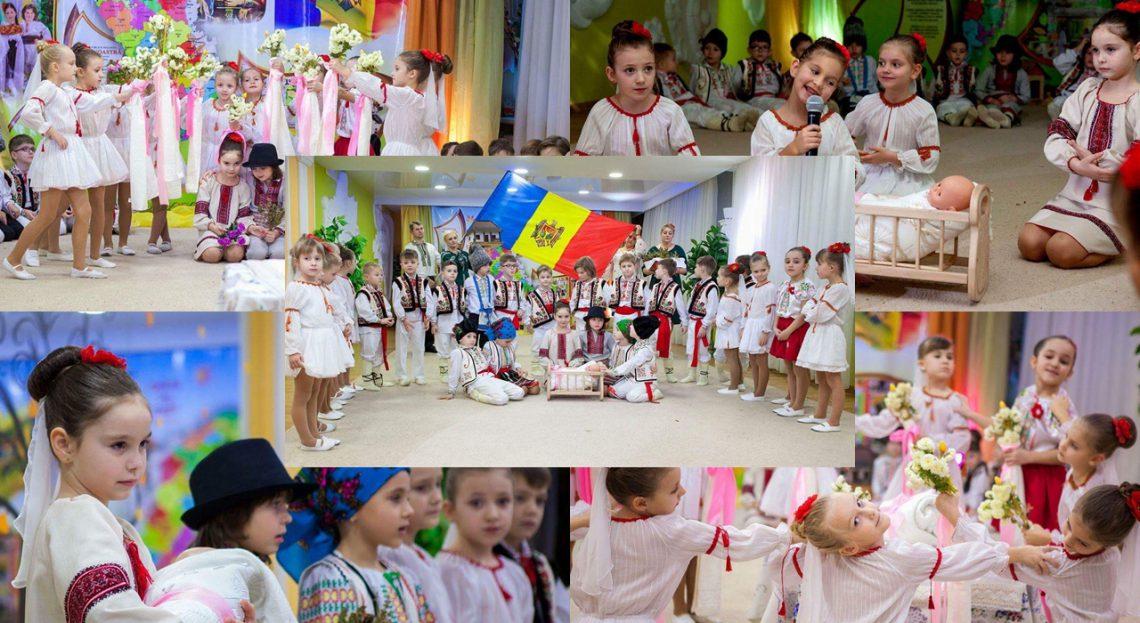 """Au jucat o adevărată cumetrie la doar 6 anișori! Un grup de copii de la Grădinița """"Floricica"""" promovează tradițiile din strămoși"""