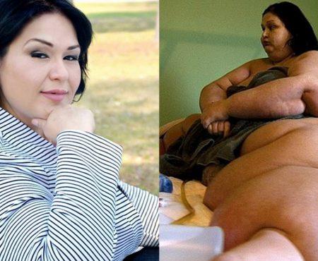 Această femeie a slăbit 362 de kilograme de dragul nepotului său! Are o poveste emoționtă