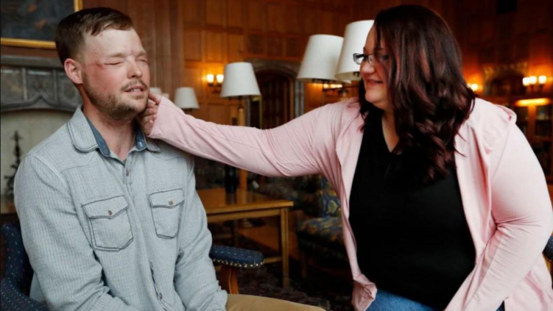 Întâlnirea între un bărbat cu transplant de față și soția donatorului (Video emoționant)
