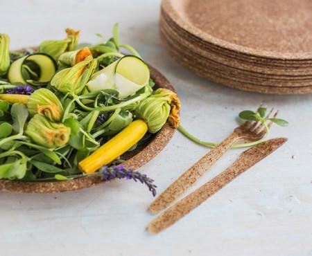 Înlocuim plasticul din bucătărie cu farfuriile comestibile din tărâțe de grâu