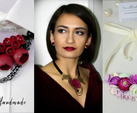 """În această iarnă se poartă bijuteriile… """"reci""""! O artistă handmade din Bălți introduce un nou trend în materie de coliere"""