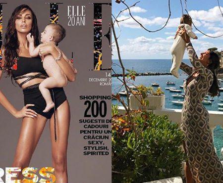 Mădălina Ghenea și fiica sa, Charlotte, în premieră pe coperta unei reviste din România! Cum au pozat cele două