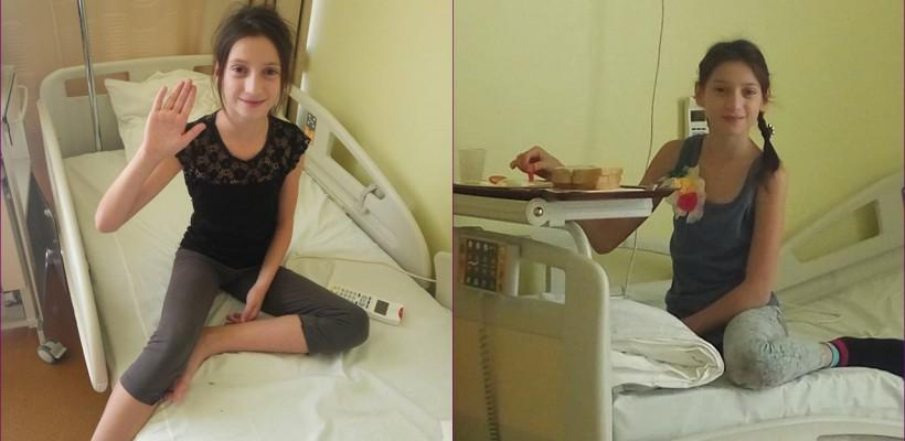Nadina Turturică este astăzi operată pe cord la o clinică din Sibiu (Foto)