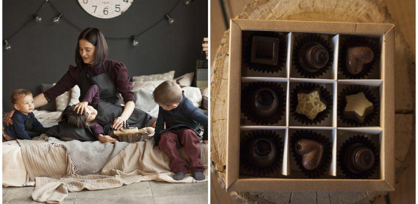 O mămică din Chișinău face ciocolată care nu îngrașă. Dimpotrivă, alimentul fericirii ajută la slăbire