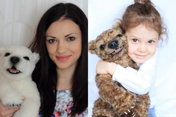 Vei fi cucerit de ursuleții confecționați de Irina Zlobin! Prima jucărie a fost facută pentru fiica ei, iar acum sunt apreciate în toată lumea (Foto)