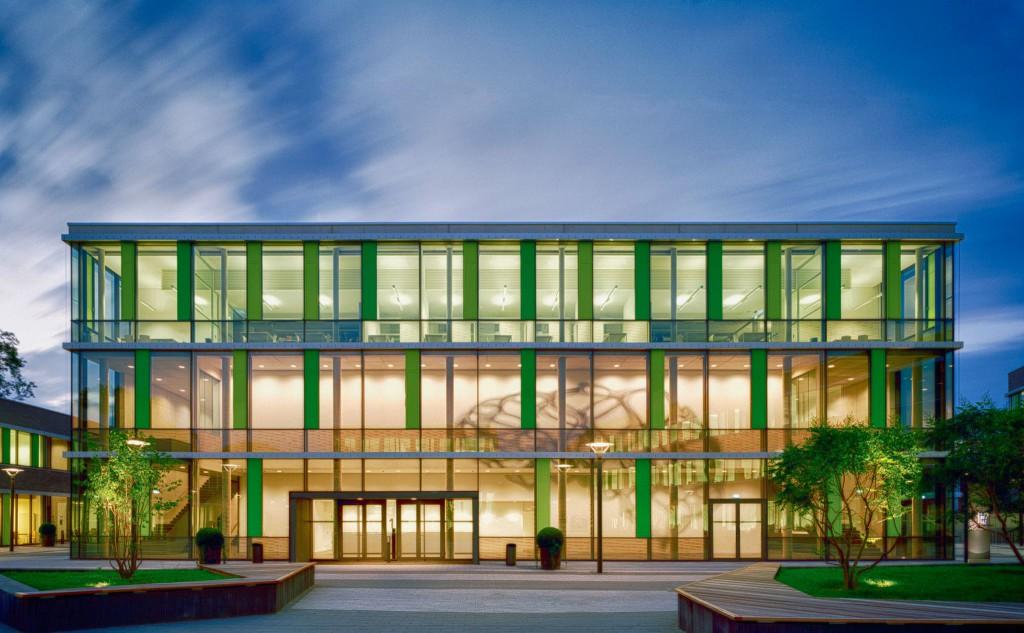 Blocul principal al universității Rhein Wall Hochschule