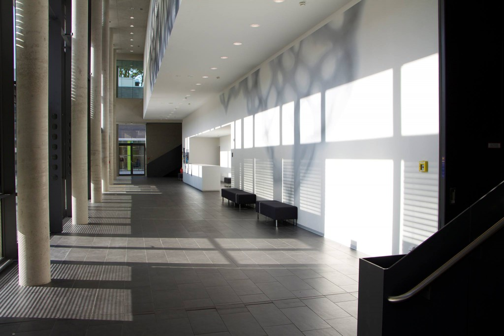 Primul etaj al unui bloc de studii