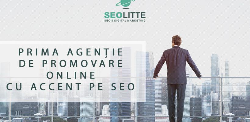 Prima agenție de promovare on-line cu accent pe SEO