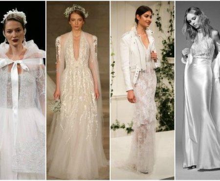 Te măriți în anul care vine? Iată ce rochii de mireasă se vor purta în 2018! (Foto)
