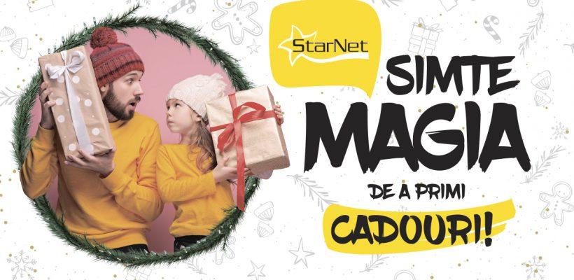 Simte magia de a primi cadouri alături de StarNet