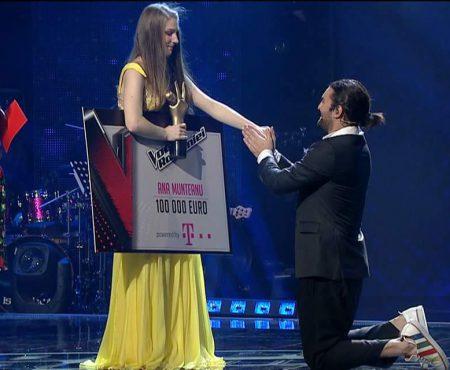 Moldoveanca Ana Munteanu, câștigătorea trofeului Vocea României se mută la București!