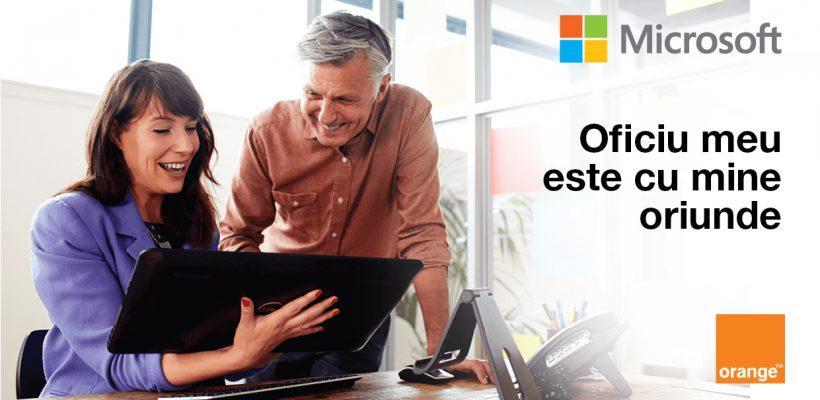 Microsoft Office 365 în abonamentele Orange pentru business