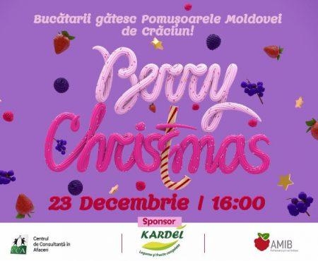 Cei mai iscusiți bucătari din Capitală se vor întrece în măiestrie la Berry Christmas! Vezi cine sunt ei