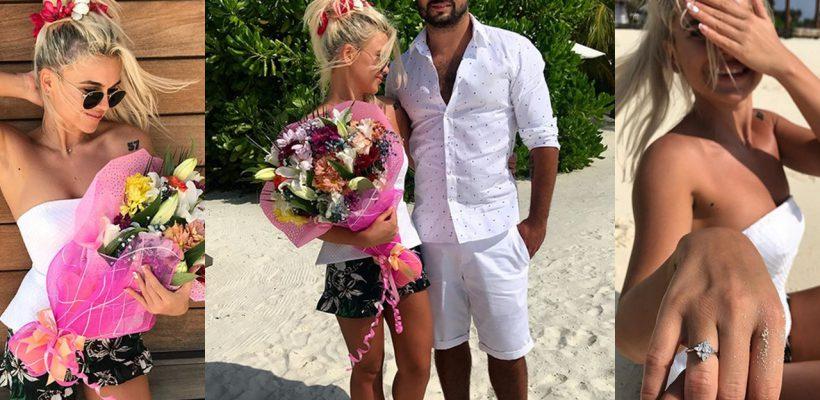 De ziua sa de naștere, Daniela Burlac a fost cerută în căsătorie! Unde și cum a avut loc surpriza (FOTO)