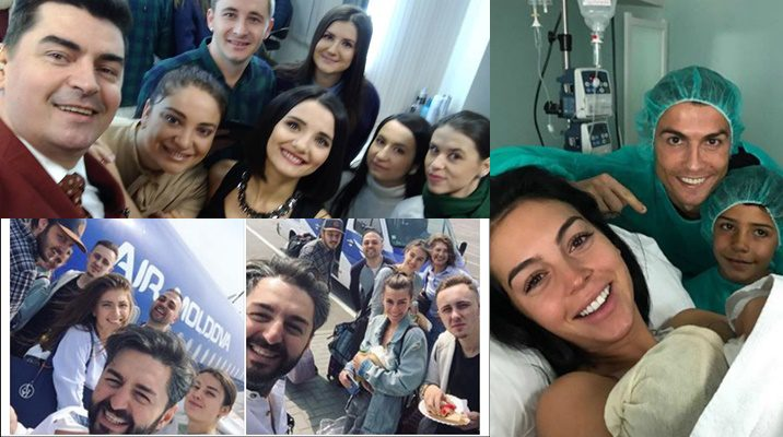 Top 7 cele mai memorabile selfie-uri din 2017 (Foto)