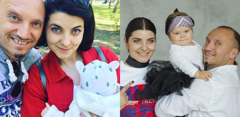 """""""Fata lu' tata!"""" Cât de mare s-a făcut fiica lui Anatol Durbală și a Olesei Sveclă (Foto)"""
