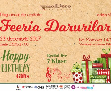 MOLDECO vă invită la cea de-a VII-a ediție a Târgului de Crăciun FEERIA DARURILOR