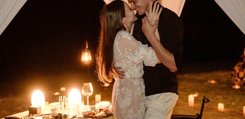 A uitat-o definitiv! Fostul soț al Olgăi Buzova s-a logodit (Foto)