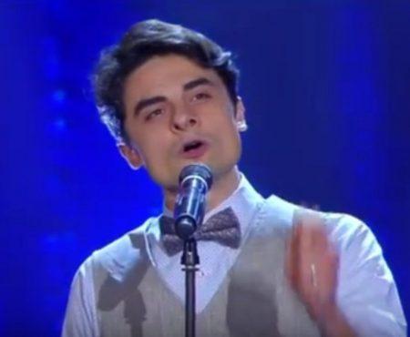 Ion Dodon, tânărul care a cucerit Italia cu vocea sa caldă! Juriu a fost impresionat, iar publicul l-a îndrăgit (Video)