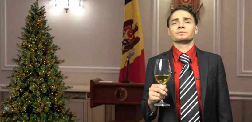 """Stimați """"cancetățeni"""", iată mesajul de Revelion al președintelui Republicii Moldova rostit la #Zerodoi (Video)"""