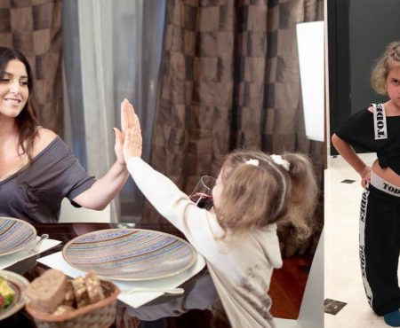 Fetița lui Ilan Shor și Jasmin vrea să fie artistă! Margarita i-a furat pantofii mamei și s-a apucat de dansat (Video)