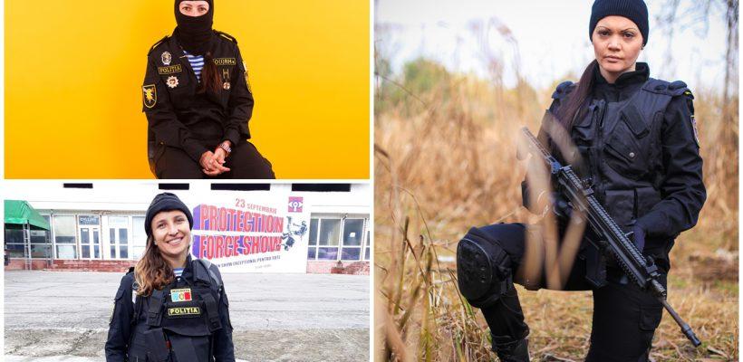"""Top 7 polițiste din Moldova! Dorina Guzun: """"Am demonstrat că locul femeii nu e la bucătărie, ci unde vrea ea"""""""