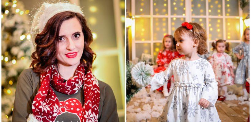 """Veronica Croitoru lansează o colecție superbă de hăinuțe pentru copii. Vă prezentăm """"Povestea de iarnă"""""""