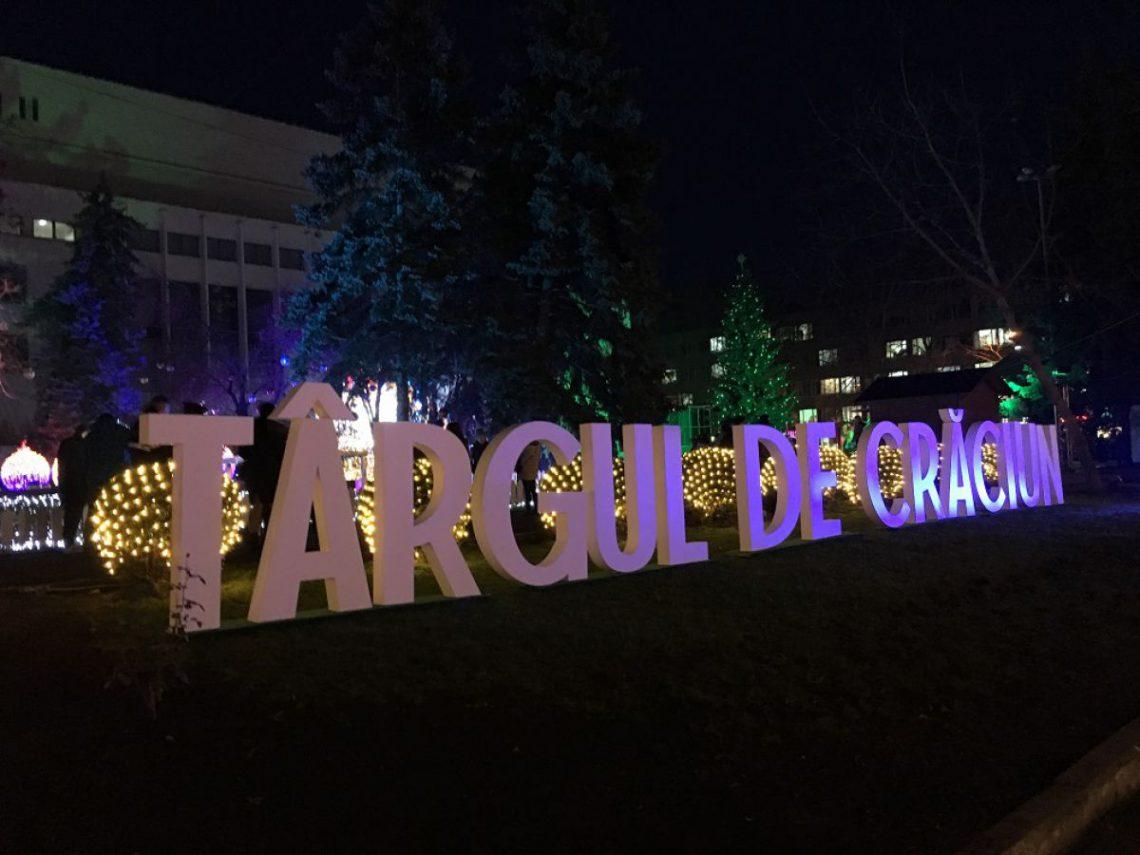 Cum arată Târgul de Crăciun inaugurat în centrul Chișinăului (Foto)
