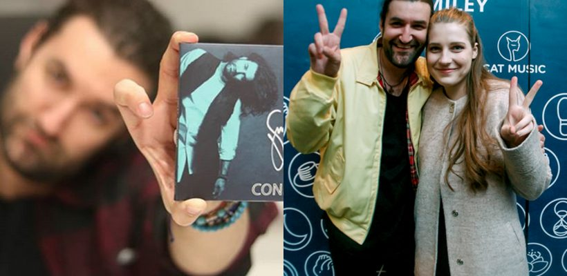 După ce a câștigat Vocea României, Smiley a lansat un nou album! Cum l-au surprins colegii cu această ocazie