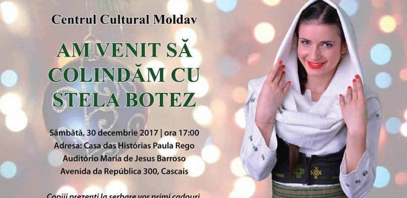 Stela Botez și-a dus cobza și cântecul tocmai în Portugalia! Interpreta i-a colindat pe moldovenii din diasporă (Foto/Video)