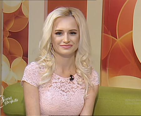"""Anișoara Loghin este noua prezentatoare a emisiunii """"O Seară Perfectă"""" Iată primele imagini cu jurnalista în această postură"""
