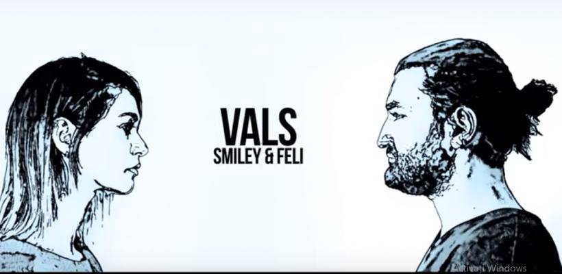 """Smiley și Feli, într-un duet emoționant! Piesa """"vals"""" nu a mai sunat așa (Video)"""