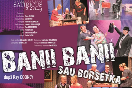 O comedie în plus pentru toți îndrăgostiți de la Teatrul Satiricus. Programează două bilete pentru Dragobete!