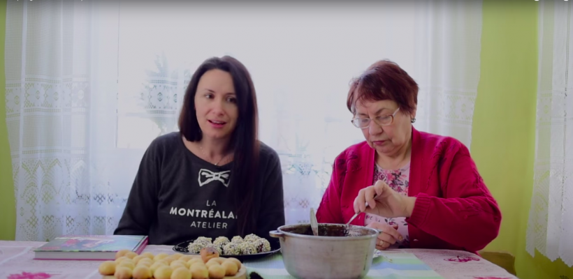 """Nata Albot, despre gastronomia tradițională: """"Numai noi suntem capabili să amestecăm în gură opt feluri de mâncare și să fim fericiți de la asta! """""""