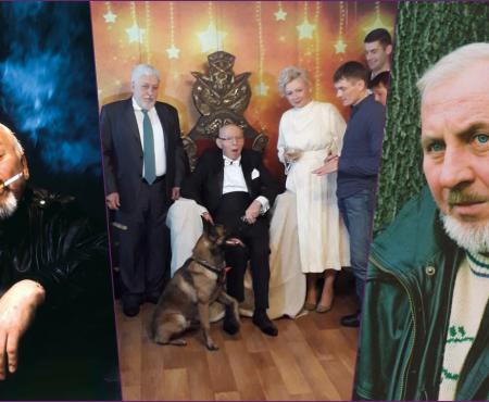 Breasla artistică a scos poze din sertar cu Gheorghe Urschi. Iată urările aduse la cei 70 de ani (Foto/VIDEO)