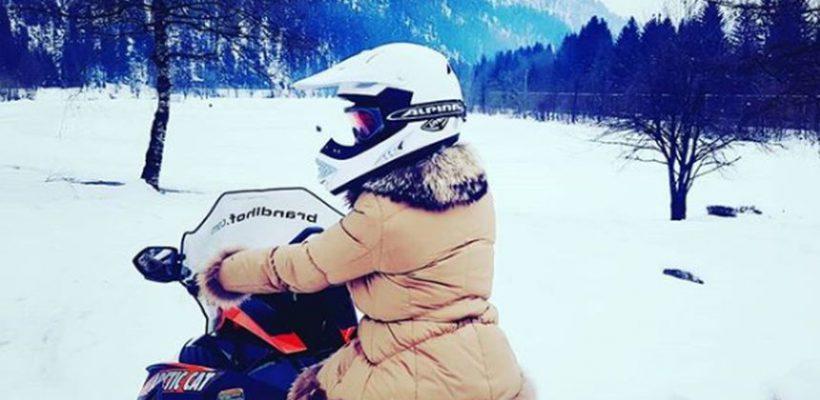 Andreea Marin, vacanță în Alpi! Vedeta a cheltuit o mică avere pentru a se răsfăța (Foto)
