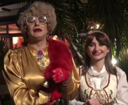 """Doamna Dora și Jana vă felicită """"cu Anul Nou pe vechi""""! Vezi mesajul celor doi (VIDEO)"""
