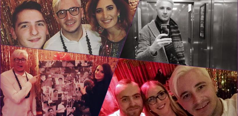 Ca la 31 de ani! Emilian Crețu s-a făcut blond și a petrecut într-un club alături de prieteni (Foto/Video)